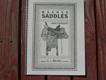 Meanea Saddle catalog 1923, Cheyenne, Wyoming